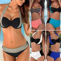 Summer Sexy Women Bikini Set Bathing Suit Swimwear High Waist Swimsuit Plus Size