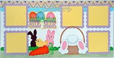 Scrapbook Page Kit Spring Easter Bunny Egg Die Cuts Paper Piecing PKEmporium 44