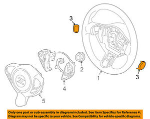 NISSAN OEM Steering Wheel-Side Cover 484654Y900