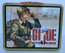 1997 Hasbro GI JOE Action Soldier Mini Metal Lunch Box Vintage