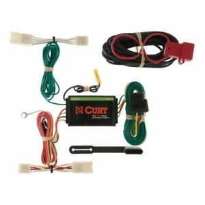 Curt 55400 Custom 4-Pin Trailer Wiring Harness For Toyota HighLander NEW