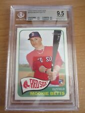 BGS 9.5 Gem Mint MOOKIE BETTS 2014 Topps Heritage High Number Rookie RC Red Sox