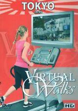 TOKYO JAPAN VIRTUAL WALK WALKING TREADMILL WORKOUT DVD AMBIENT COLLECTION NEW
