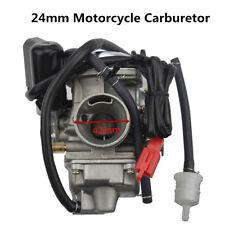 New 24mm Aluminum/Zinc GY6 125cc 150cc Motorcycle Scooter Carburetor Carb PD24J