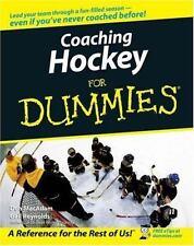 Coaching Hockey for Dummies (Paperback or Softback)