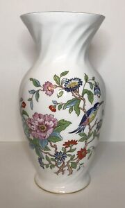 "Aynsley Pembroke 9"" Bone China Vase Made in England"
