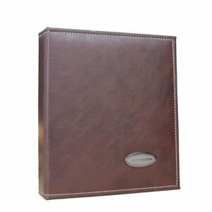 Large Leather Photo Albums 40 Sheet 80 Sides Scrapbook Wedding Guest Memory Book