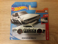 Hot Wheels Hotwheels Nissan Skyline 2000 GT-R Police - 1:64 1/64 HW Rescue 4/10