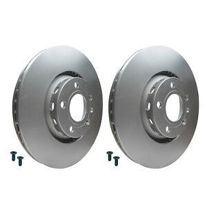 Front Brake Discs 312mm Audi A4 A6 VW Passat 1.8T 2.8 3B0615301B 4B0615301A