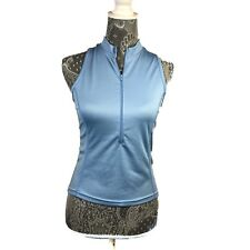 Canari Top Size Small Womens Blue Cycling Bicycling Back Pockets Outdoor