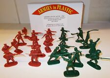 Armies in Plastic 5676 - Boxer Rebellion - 8 Chinese Boxers & 10 Russians   1/32
