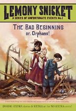 A Series of Unfortunate Events #1: The Bad Beginning by Snicket,  9780061146305