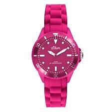 Armbanduhren aus Silikon/Gummi mit Leuchtzeiger für Damen