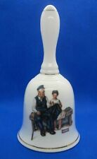 Vintage 1985 Norman Rockwall Museum Bell- Lighthouse Keeper's Daughter- Taiwain