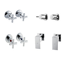 Wels Bathroom Wall Tap Set - All Designs Cheapest Prices - Faucet / Top / Taps