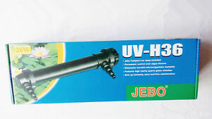 36w UV Clarifier Ultraviolet Sterilizer Aquarium 350 Gallons 3000L Pond Filter