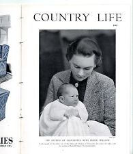 1942 COUNTRY LIFE Magazine BISHOPS PALACE Pilgrims Way OXO AD Slipware (6532)