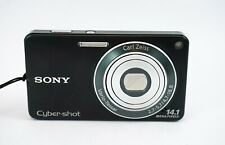 Sony Cyber-shot DSC-W350 14.1MP Digital Camera - Silver