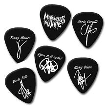 MOTIONLESS IN WHITE Vinny Chris Ryan signature print plectrum guitar pick picks