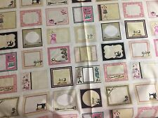 Cute as a Button Sewing Supplies Quilt Labels Fabric - Qltg Treas - PANEL