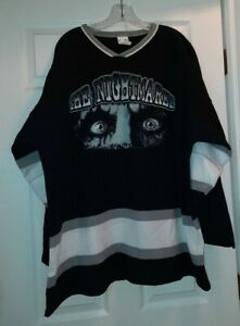 NEW Alice Cooper Hockey Jersey THE NIGHTMARES XXL