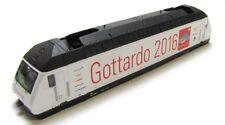 Ersatz-Gehäuse SBB Gottardo 2016 z.B. für FLEISCHMANN Elektrolok Re 460 N NEU