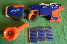 NERF Elite Hyperfire. Original 25 Round Drum + 30 Darts + Batteries