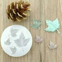 Maple Leaf Silicone Mold Craft Mould Resin Necklace Jewelry Pendant DIY Mak U9I0