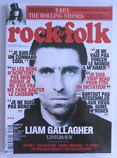 ROCK AND FOLK N° 602 oct 2017 LIAM GALLAGHER T-REX ROLLING STONES MARILYN MANSON