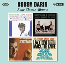BOBBY DARIN-FOUR CLASSIC ALBUMS (LOVE SWINGS / TWO OF A KIND / CD NEW