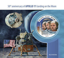 Maldives 2019  Apollo 11 landing on the Moon ,space   S201907