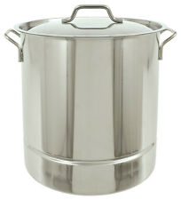 Bayou Classic 1308 8 Gallon Tri Ply Bottom Stockpot With Lid 32 Quart Ships Fast