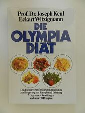 Joseph Keul Eckart Witzigmann Die Olympia Diät