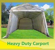 SAVE $$$ Carport 24'x13' Grey White - Garage Storage Canopy Shed