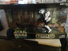 Star Wars The Power of the Force Speeder Bike with Scout Trooper 12""