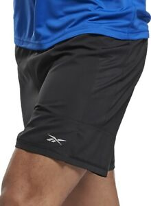 Reebok Essentials 5 Inch Mens Running Shorts - Black