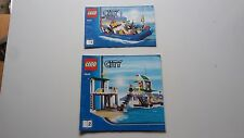LEGO CITY!!! Istruzioni solo!!! PER 4644 Marina