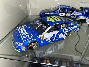 2017 1/24 #48 Jimmie Johnson Bristol Win Lowes Chevy