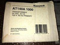 Honeywell Transformer AT140A 1000 24VAC 40 VA 120v 60HZ Primary w/Free Shipping