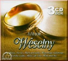 Album weselny - 3 CD BOX-Polonia, polacco, Polish, POLSKA POLONIA.
