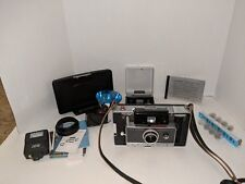 POLAROID LAND CAMERA - AUTOMATIC 100 WITH CASE, FLASH & ACCESS - LOT H