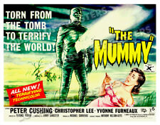 THE MUMMY LOBBY CARD POSTER BQ 1959 CHRISTOPHER LEE PETER CUSHING HAMMER FILM