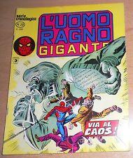 ED.CORNO  SERIE  L'UOMO RAGNO GIGANTE  N° 29  1978  ORIGINALE  !!!!