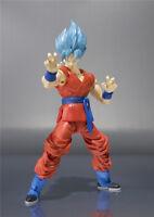 Dragon Ball Z Super Saiyan blue Goku PVC Action Figure Figurine Toy Gift 18CM