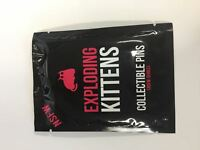 Exploding Kittens NSFW Series Enamel Collector Pin Blind Bag UNOPENED