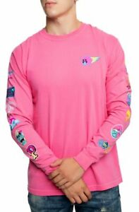 Pink Dolphin Legendary Archive Long Sleeve Tee in Pink Size Small #AF1911