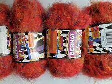 New Listing4 skeins of alpaca blend yarn Bernat Frenzy, wool blend yarn