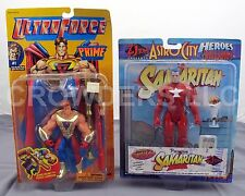 Galoob UltraForce Prime Ultra Hero & ToyVault Astro City Samaritan Action Figure