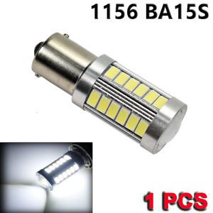 1156 BA15S 7506 3497 1141 P21W White 33 LED Reverse Backup Light Bulb Y1 N2