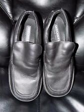Skechers Work-Relaxed Fit SR Slip On Dress Shoes Black 4007 Size 11 Men's EUC